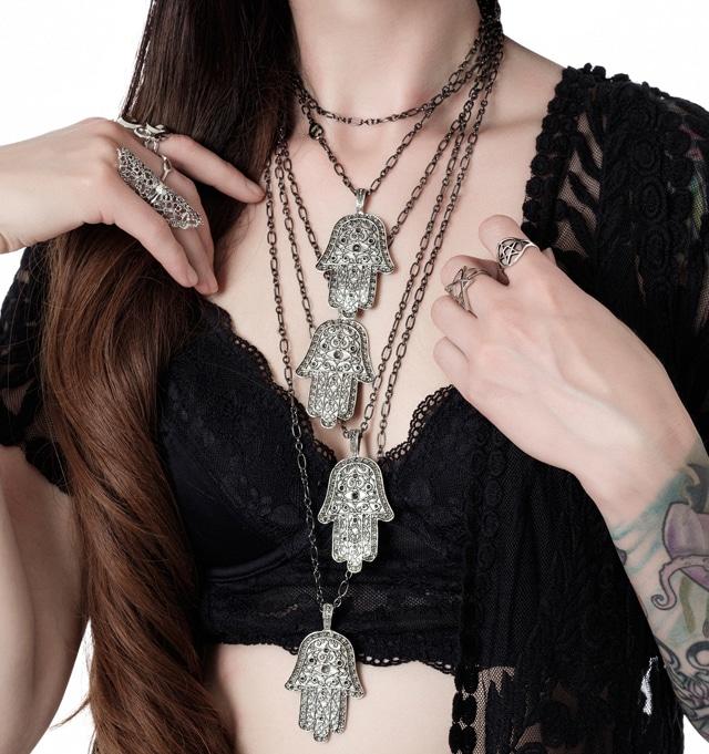 FREEBIE! Hamsa Hand Necklace!