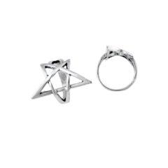 Pentagram Ring Large