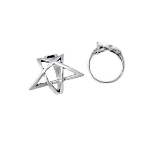 Pentagram Ring Large