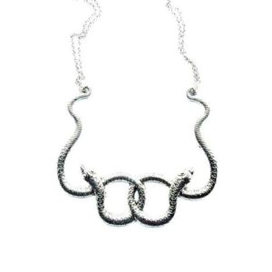 Serpent Snake Necklace