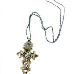 Native Cross Necklace