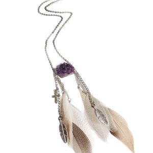 Free Spirit Amethyst Necklace