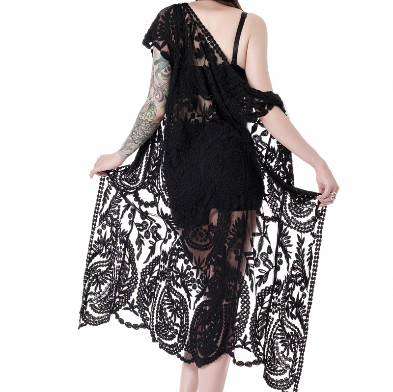 dreamchaser lace duster back