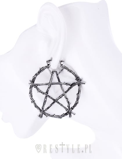 pentagram-branch-earrings-on-doll-restyle