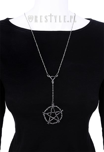 pentagram-branch-necklace-on-doll-restyle
