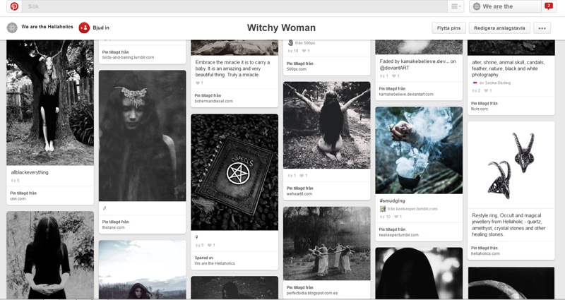 pinterest witchy woman