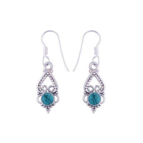 Letita-925-silver-moonstone-earrings