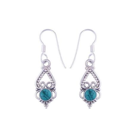 Letita-925-silver-moonstone-earrings