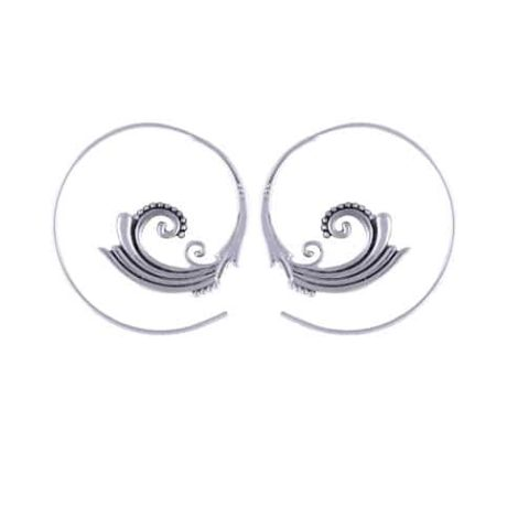 swirl-boho-silver-earrings
