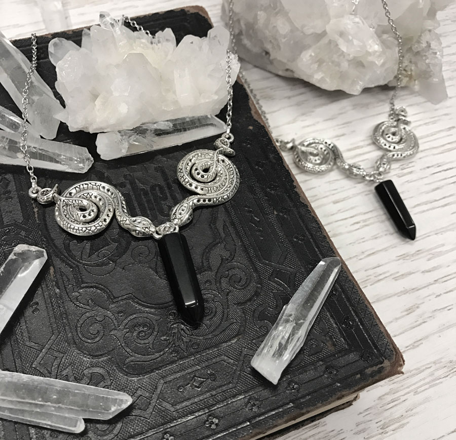 onyx-duo-serpent-snake-necklace-with-crystal-quartz