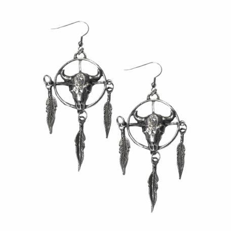 medicine wheel earrings
