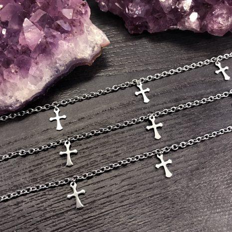 stainless-steel-cross-choker