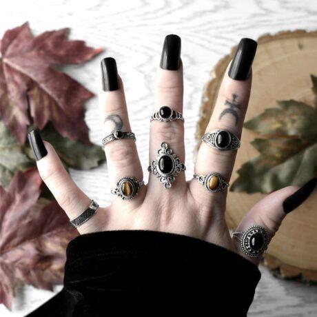 ariana-silver-onyx-ring-tiger-eye-rings-hellaholics