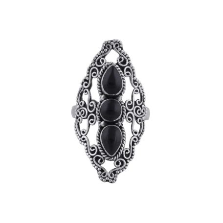 aurelia-sterling-silver-tripple-onyx-ring-front
