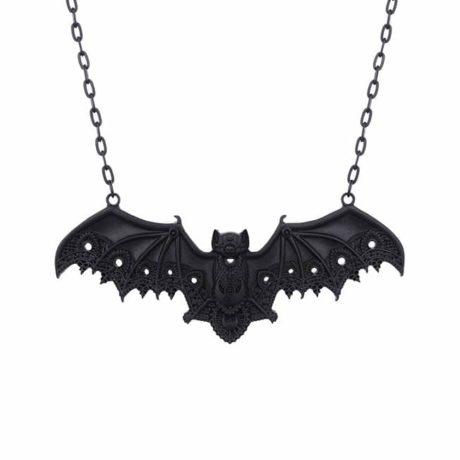 bat-lace-necklace