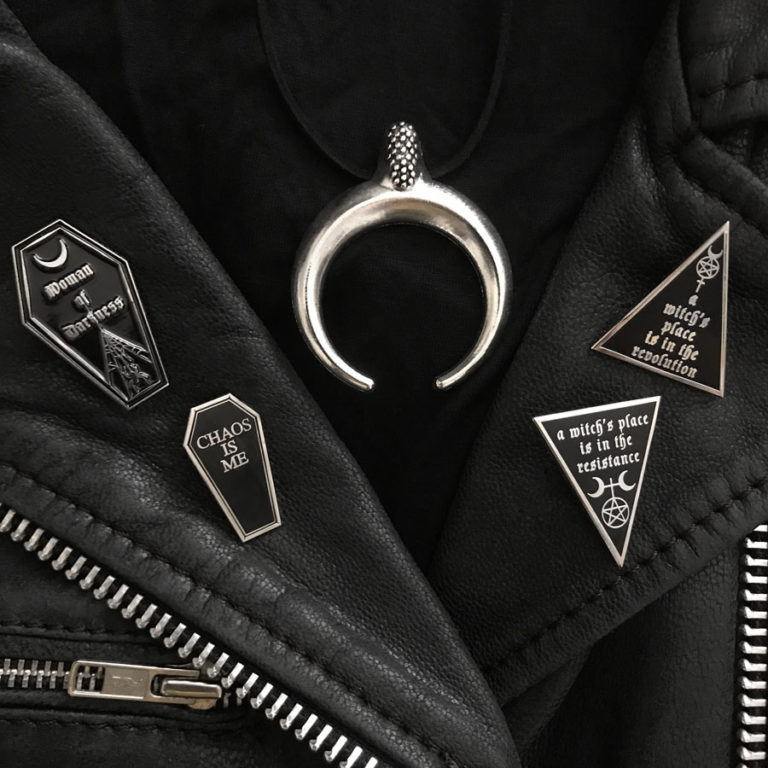 Leather Weather! New Pins!