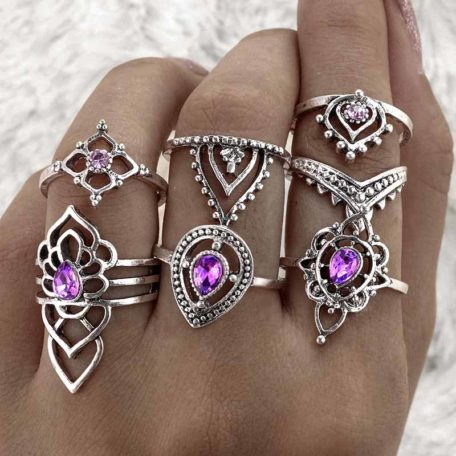 dharma ring set hand