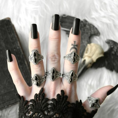 arlea-silver-onyx-rings-hellaholics