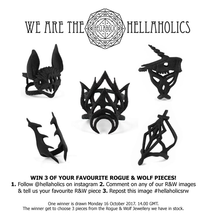 Win your 3 Favourite pieces from Rogue & Wolf!