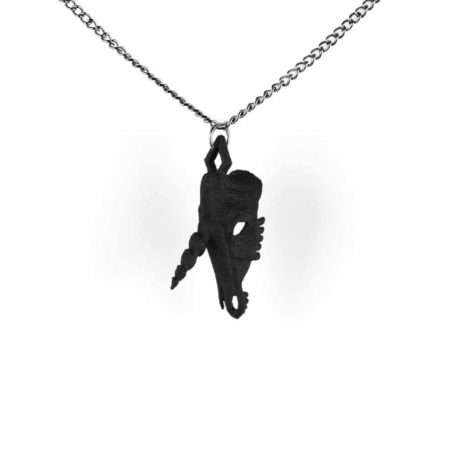 unicorn-skull-necklace-in-black-by-rogue-and-wolf-3