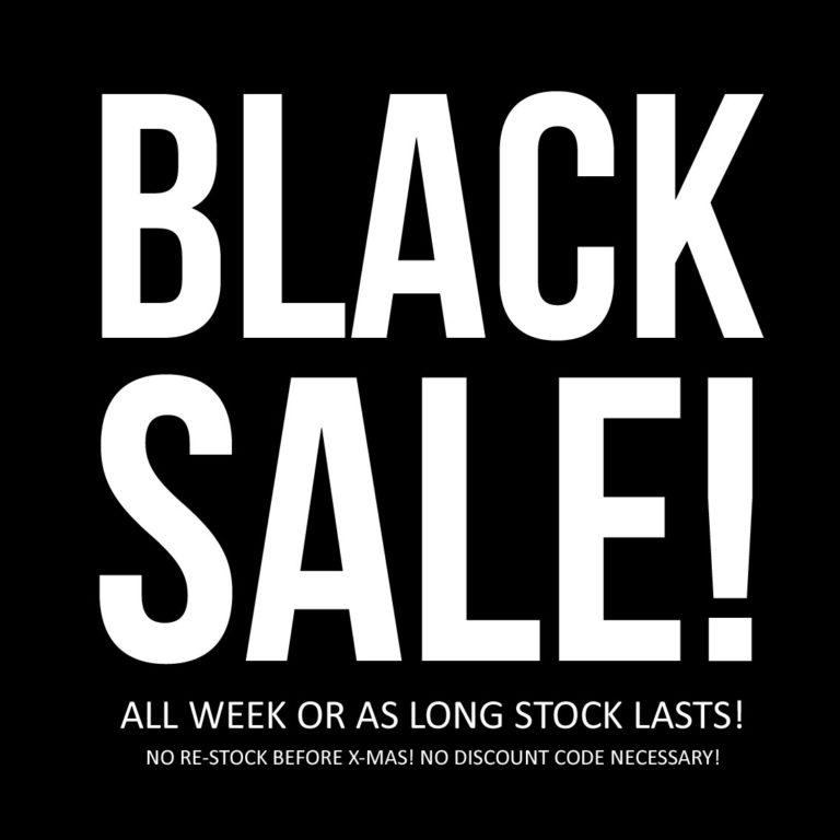 BLACK SALE!