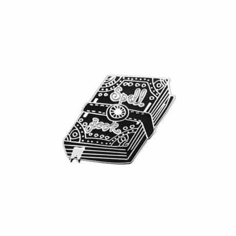 spell-book-enamel-pin
