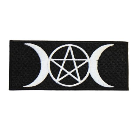 wicca-pentagram-and-moon-patch-hellaholics
