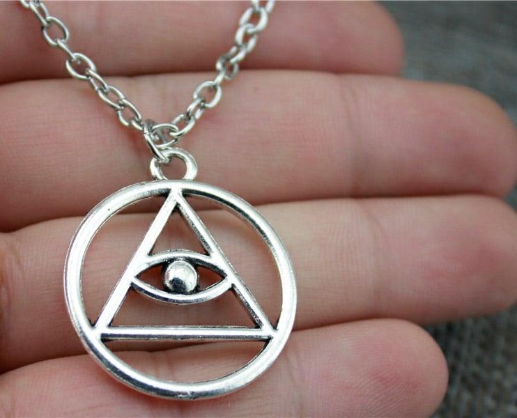 eternaly eye necklace
