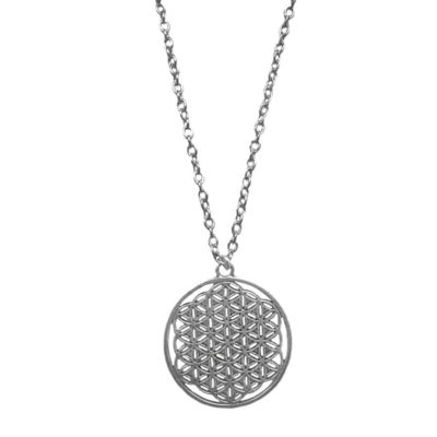 flower of life symbol necklace