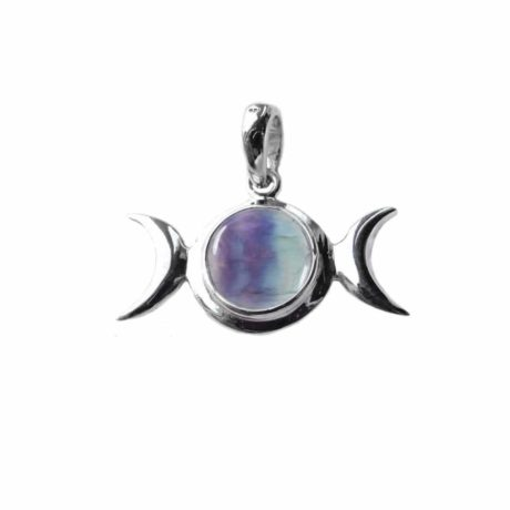sterling-silver-925-triple-moon-godess-pendant-flourite-front-hellaholics
