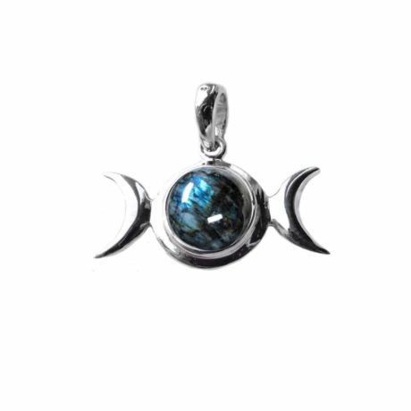 sterling-silver-925-triple-moon-godess-pendant-labradorite-front-hellaholics