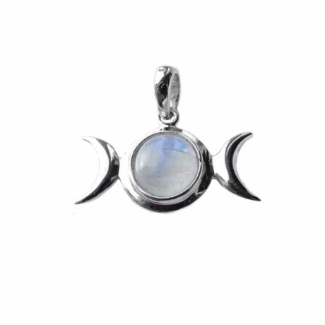 sterling-silver-925-triple-moon-godess-pendant-moonstone-front-hellaholics