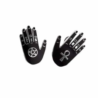 black hands pins by punky pins