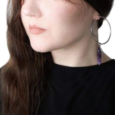 amethyst-stainless-steel-hoops-earrings-hellaholics
