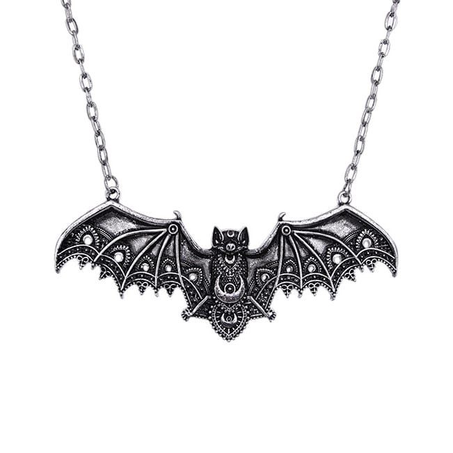 Restyle.pl Lace Bat Wing Necklace