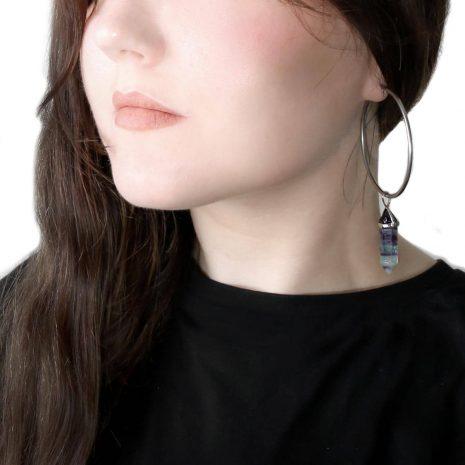 fluorite-stainless-steel-hoops-earrings-hellaholics