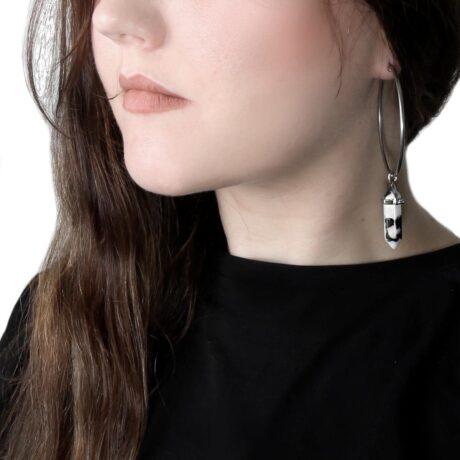zebra-jasper-stainless-steel-sold-hoops-earrings-hellaholics