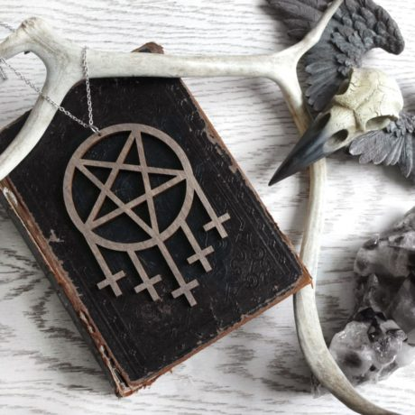 pentagram-cross-wooden-necklace-brown-hellaholics
