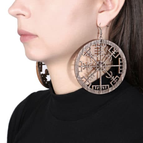 vegvisir-wooden-earrings-brown-hellaholics