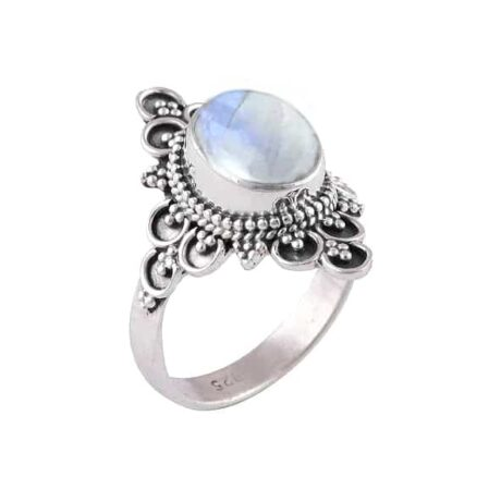 Ariana-silver-moonstone-ring-side