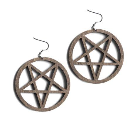 XL-pentagram-brown-earrings-hellaholics