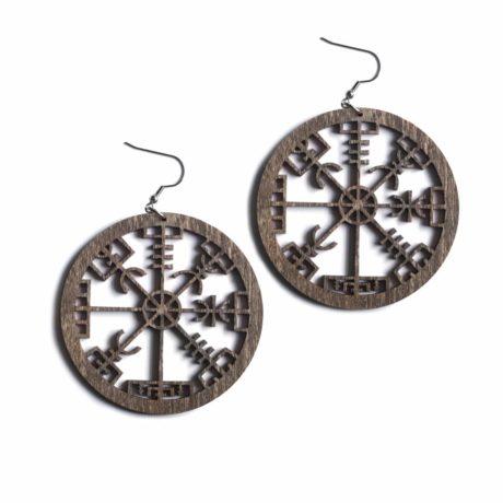 vegvisir-brown-earrings-hellaholics