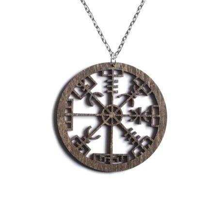 vegvisir-pentagram-brown-chain-hellaholics