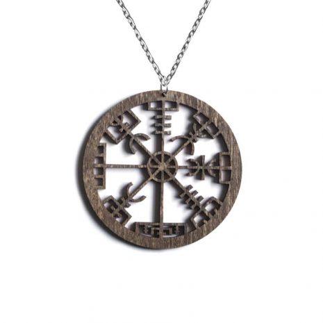 vegvisir-pentagram-brown-chain-hellaholics