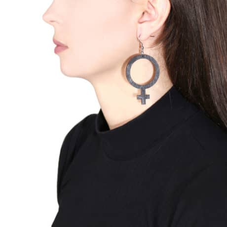 feminist-sign-black-earrings-hellaholics