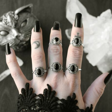 aditi-silver-onyx-rings-hellahoilcs