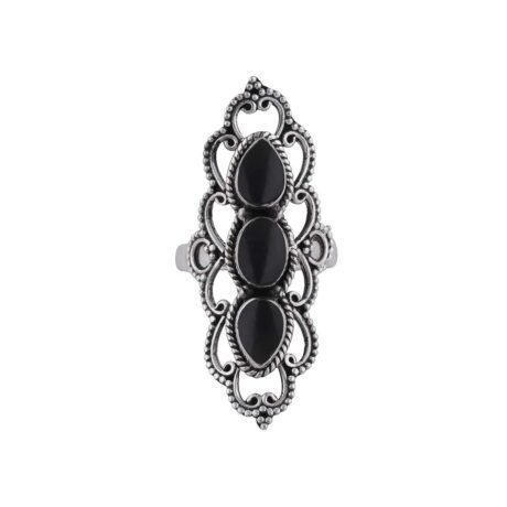 astara-onyx-silver-ring-front