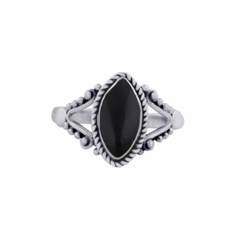 calida-sterling-silver-onyx-ring-front