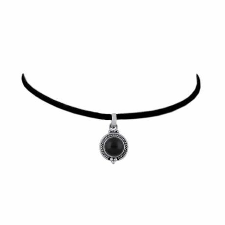 riya-sterling-silver-onyx-pendant-silver-gem-hellaholics