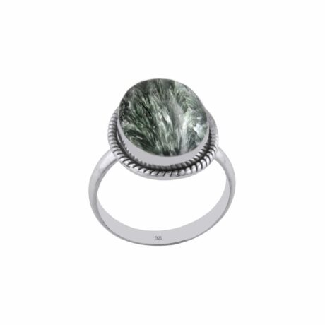 seraphinite-green-sterling-silver-ring